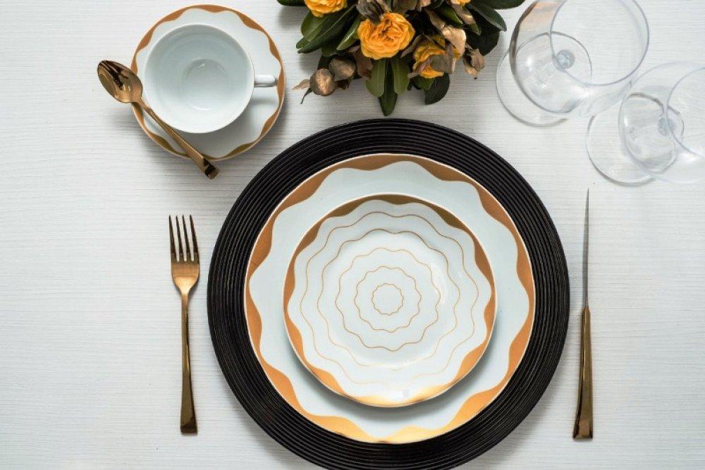 Porcelana Schmidt comemora 75 anos com coleção 100% Brasil